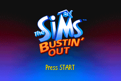 The Sims - Bustin' Out [Model AGB-ASIE-USA] screenshot