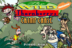 The Wild Thornberrys - Chimp Chase [Model AGB-AWTE-USA] screenshot