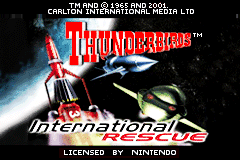 Thunderbirds - International Rescue [Model AGB-ATNP-EUR] screenshot
