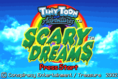 Tiny Toon Adventures - Scary Dreams [Model AGB-ATTE-USA] screenshot
