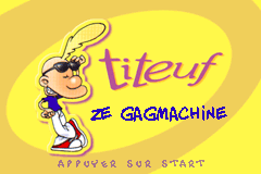 Titeuf - Ze Gagmachine screenshot