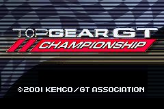 Top Gear GT Championship [Model AGB-ATCE-USA] screenshot