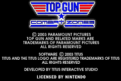 Top Gun - Combat Zones [Model AGB-A2YE-USA] screenshot