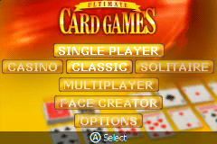 Ultimate Card Games [Model AGB-BUCE-USA] screenshot