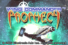 Wing Commander - Prophecy [Model AGB-AW9P-EUR] screenshot