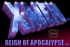 X-Men - Reign of Apocalypse [Model AGB-AXME-USA] screenshot