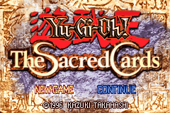 Yu-Gi-Oh The Sacred Cards [Model AGB-AY7E-USA] screenshot