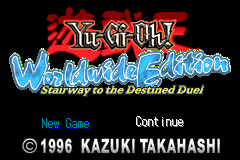 Yu-Gi-Oh Worldwide Edition - Stairway to the Destined Duel [Model AGB-AYWP] screenshot