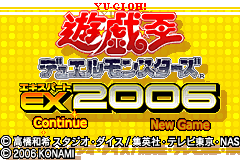 Yu-Gi-Oh! Duel Monsters Expert 2006 [Model AGB-BY6J-JPN(RK388-J1)] screenshot