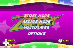 Zapper [Model AGB-AZPP] screenshot