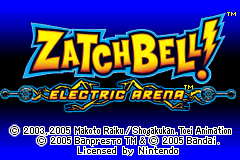 Zatchbell Electric Arena [Model AGB-A4GE-USA] screenshot