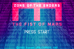 Zone of the Enders - The Fist of Mars [Model AGB-AZEE-USA] screenshot