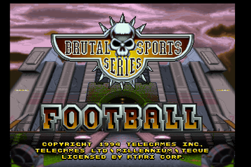 Brutal Sports Football [Model JA100] screenshot