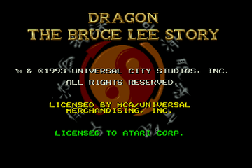 Dragon - The Bruce Lee Story [Model J9036E] screenshot