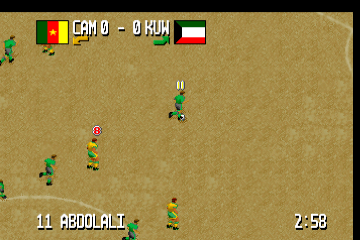 Fever Pitch Soccer [Model J9106E] screenshot