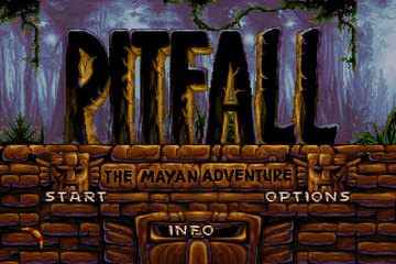 Pitfall - The Mayan Adventure [Model J90101] screenshot