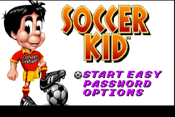 Soccer Kid [Model CF3002] screenshot
