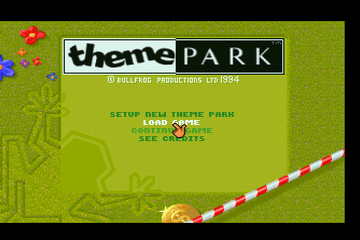 Theme Park [Model L8001] screenshot