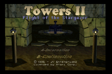 Towers II - Plight of the Stargazer [Model JA256] screenshot