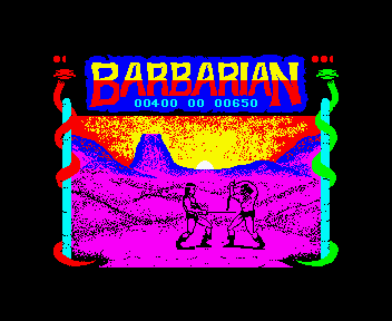 Barbarian - The Ultimate Warrior [Model PSD1058] screenshot