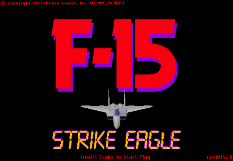 F-15 Strike Eagle screenshot