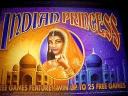 Indian princess slot machine sun cruise casino