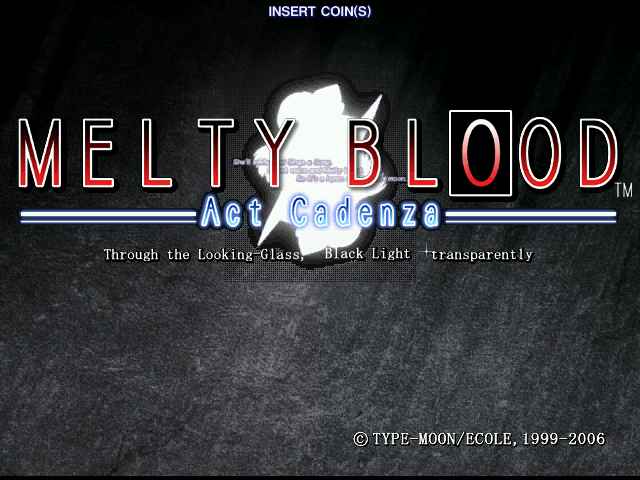 Melty Blood - Act Cadenza ver. B [Model GDL-0039] screenshot