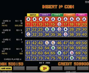 4-Card Keno screenshot