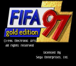 FIFA 97 - Gold Edition [Model 7748] screenshot