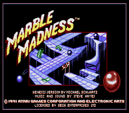 Marble Madness [Model 7089] screenshot