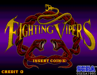 Fighting Vipers screenshot