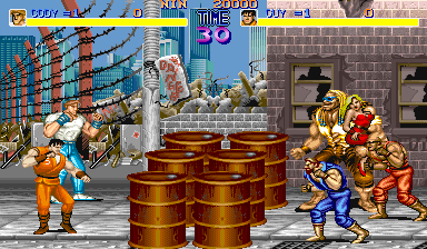 Final Fight [B-Board 88622B-3] screenshot
