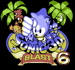 Sonic 3D Blast 6 screenshot