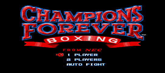 Champions Forever Boxing [Model TGX040077] screenshot