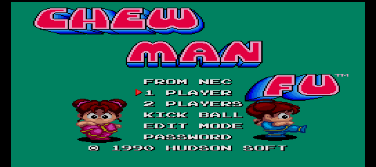 Chew-Man-Fu [Model TGX020035] screenshot
