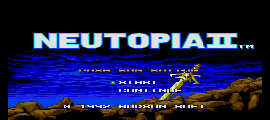 Neutopia II [Model TGX060078] screenshot