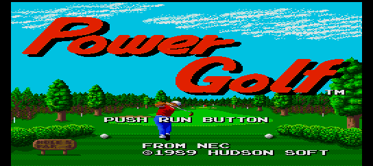 Power Golf [Model TGX030009] screenshot