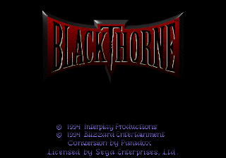 Blackthorne [Model 84519] screenshot