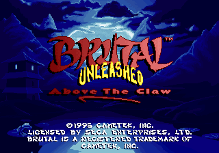 Brutal Unleashed - Above the Claw [Model T-8301B] screenshot