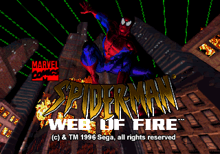 The Amazing Spider-Man - Web of Fire [Model 84517] screenshot