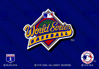 World Series Baseball '95 [Model 84605] screenshot