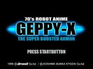 70's Robot Anime GEPPY-X - The Super Boosted Armor [Model SLPS-01995~8] screenshot