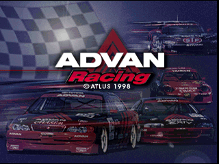 Advan Racing [Model SLPS-01689] screenshot