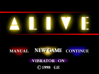 Alive [Model SLPS-01527~29] screenshot