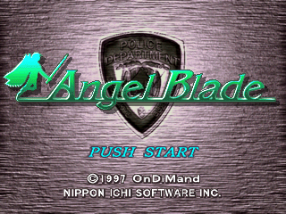 Angel Blade - Neo Tokyo Guardians [Model SLPS-00894] screenshot