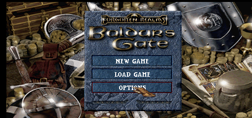 Baldur's Gate [Model SLUS-01037] screenshot