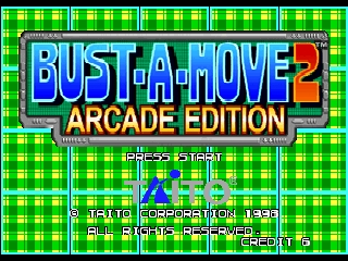 Bust-A-Move 2 - Arcade Edition [Model NUS-NBUE-USA] screenshot