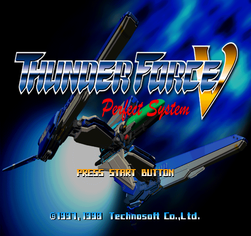 Thunder Force V - Perfect System [Model SLPS-01406] screenshot