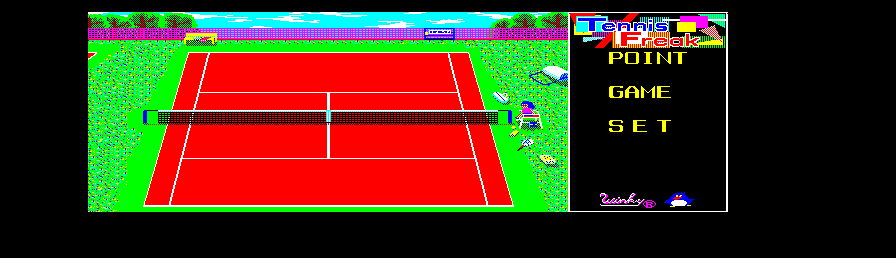 Tennis Freak screenshot