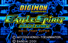 Digimon Tamers - Battle Spirit [Model SWJ-BANC1A] screenshot
